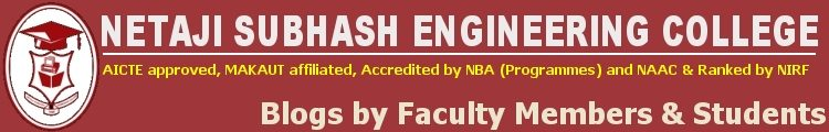 Netaji Subhash Engineering College – Blog